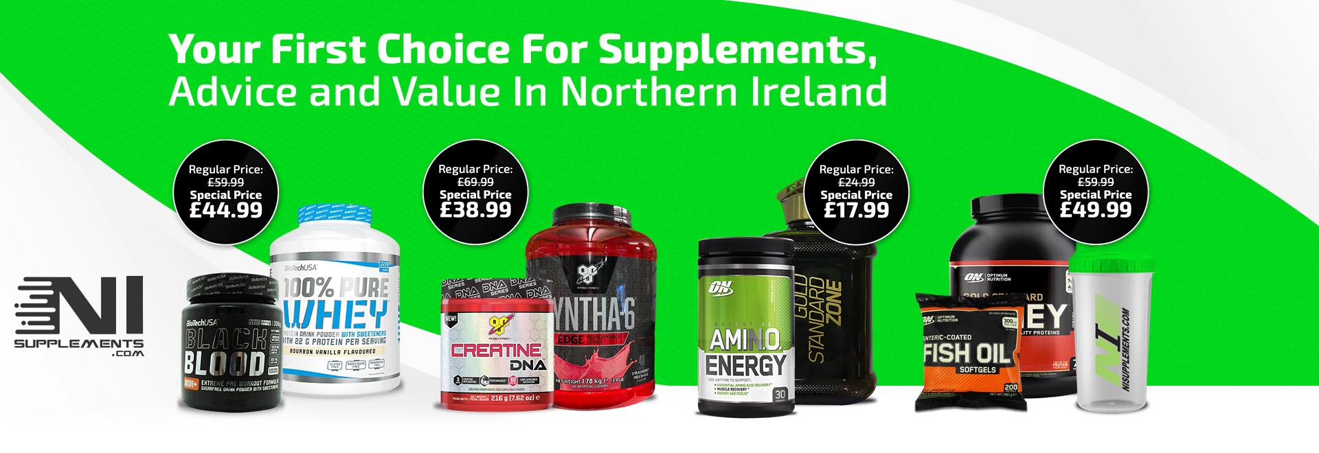 Visit NI Supplements